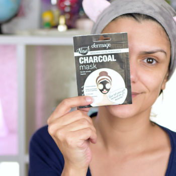 Dermage Charcoal Mask
