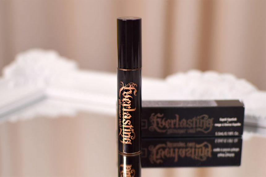 Resenha: Kat Von D. Everlasting Glimmer Veil Liquid Lipstick (cor Thunderstruck)