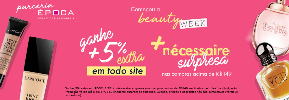 Beauty Week Época Cosméticos