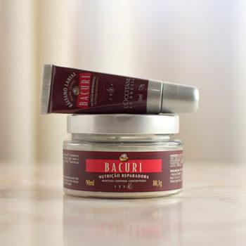 Manteiga Corporal Concentrada e Bálsamo Labial Bacuri L'Occitane au Brésil