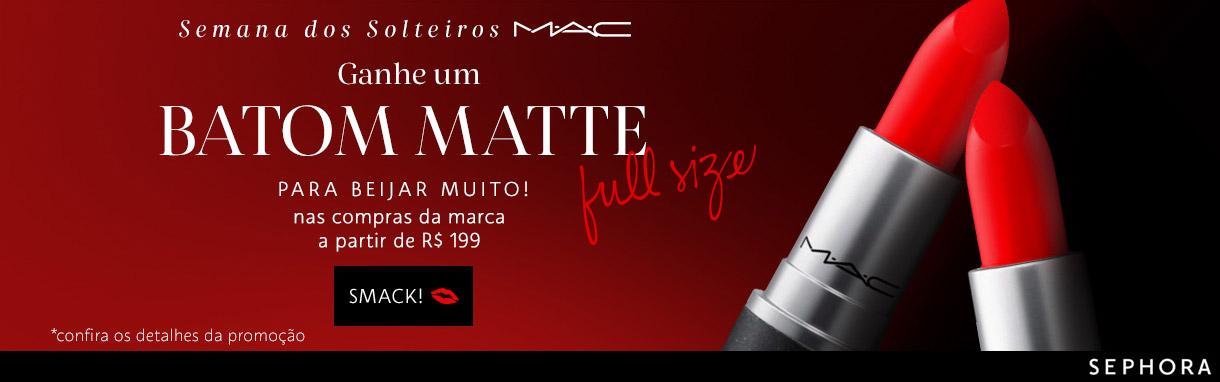 Promo Brinde MAC