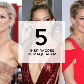 5 inspirações de maquiagem com Kate Hudson