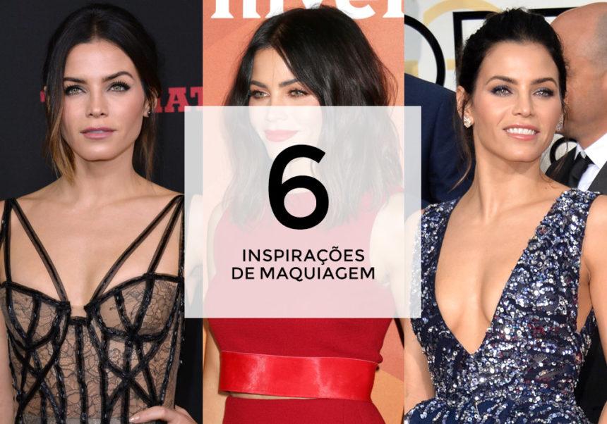 6 inspirações de maquiagem com Jenna Dewan