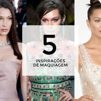 5 inspirações de maquiagem com Bella Hadid