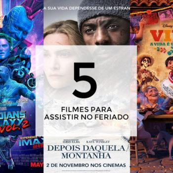 #TelecinePlayers: 5 filmes pra assistir no feriado
