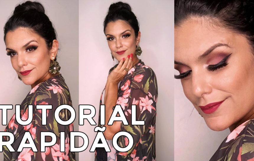 Tutorial: Maquiagem rosa com Vice 3 Palette