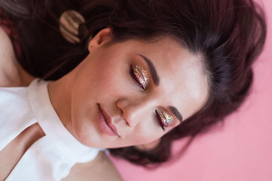 maquiagem para as festas de final de ano