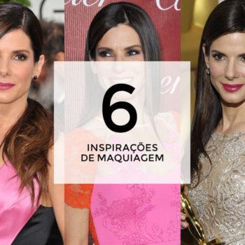6 inspirações de maquiagem com Sandra Bullock