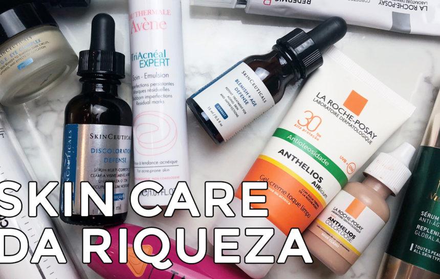 Bate-papo sobre os preferidos de skin care da Cinthia Ferreira
