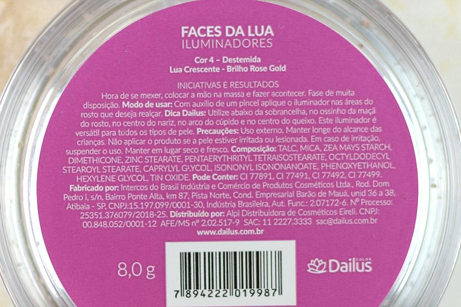 Iluminador Dailus Faces da Lua