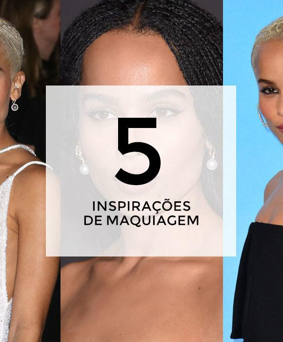 5 inspirações de maquiagem com Zoë Kravitz
