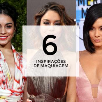 6 inspirações de maquiagem com Vanessa Hudgens