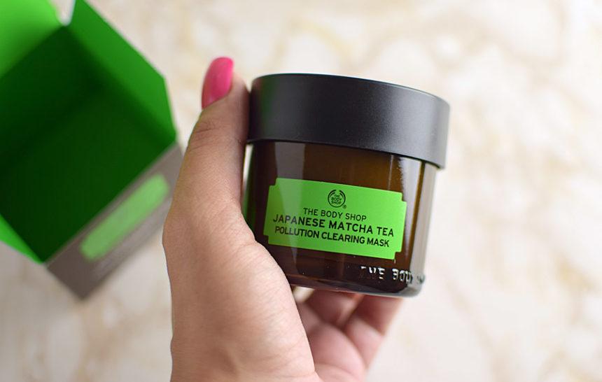 The Body Shop Máscara Antipoluição de Chá de Matcha