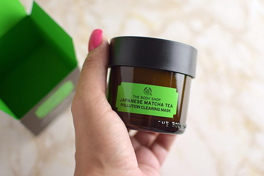 The Body Shop Máscara Antipoluição de Chá de Matcha do Japão