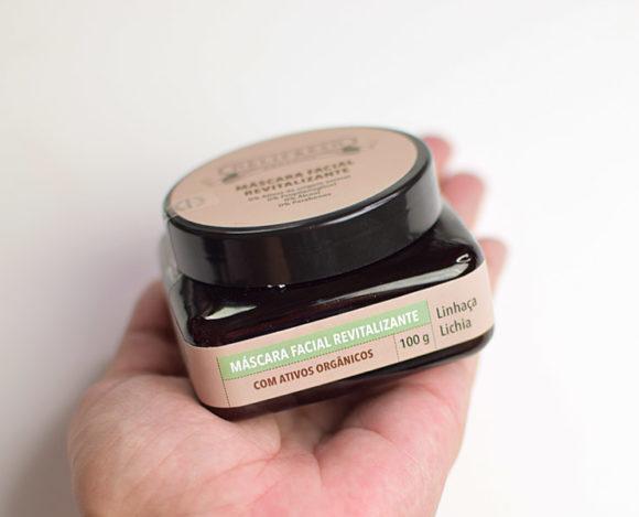 Dermage Máscara Revitalizante Delifresh Organics Lichia & Linhaça