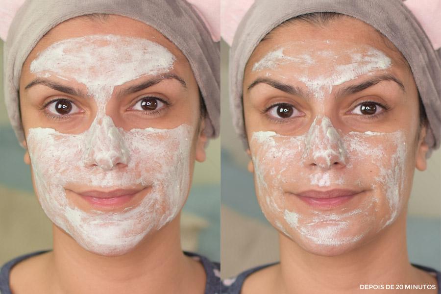 Dermage Máscara Revitalizante Delifresh Organics Licha & Linhaça