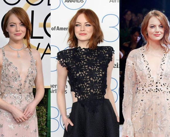 8 inspirações de maquiagem com Emma Stone