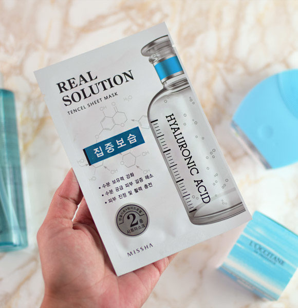 Missha Real Solution Hyaluronic Acid Mask