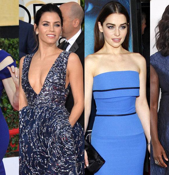 + 10 maquiagens para combinar com vestido azul