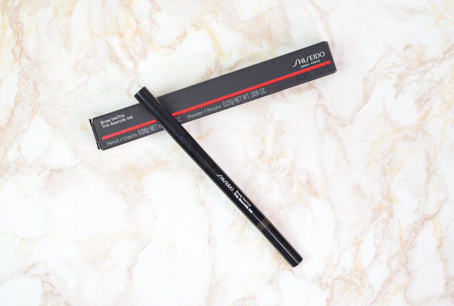 Resenha: Shiseido Brow Inktrio
