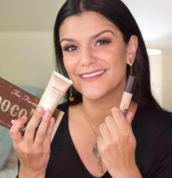 Synchro Skin Tinted Gel Cream, Flawless Fusion Concealer e Chocolate Bon Bons Palette