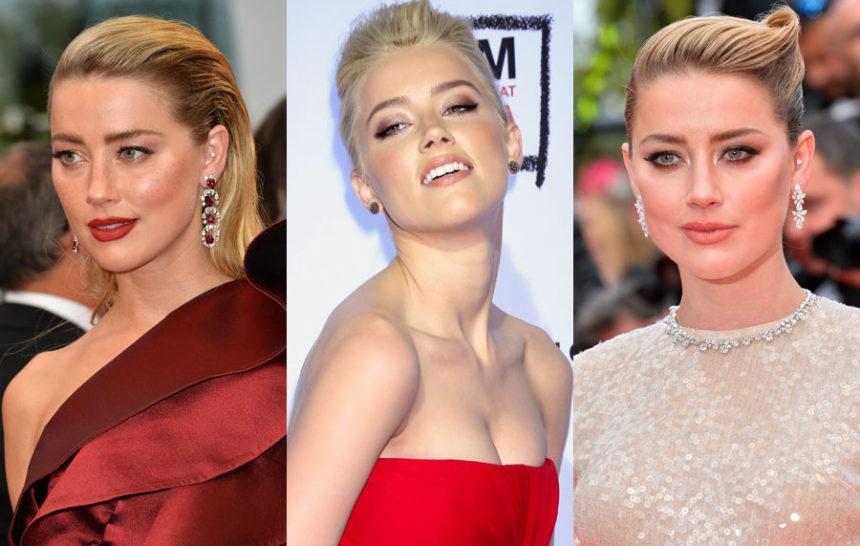 7 inspirações de maquiagem com Amber Heard