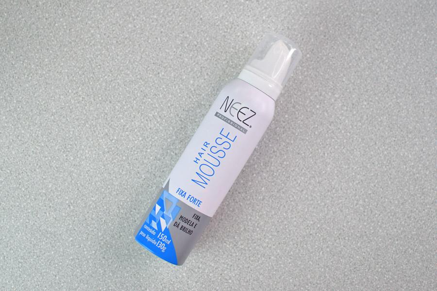 Neez Hair Mousse Fixa Forte
