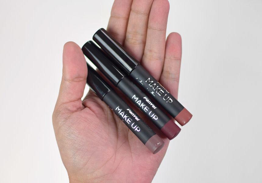 Batons Lápis Matte da Panvel Make Up