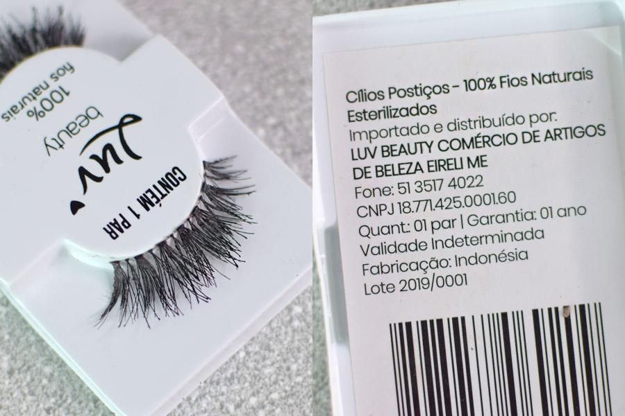 Luv Beauty Cílios Postiços modelo #03 Queen