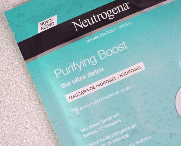 Máscara Facial Neutrogena Purifying Boost