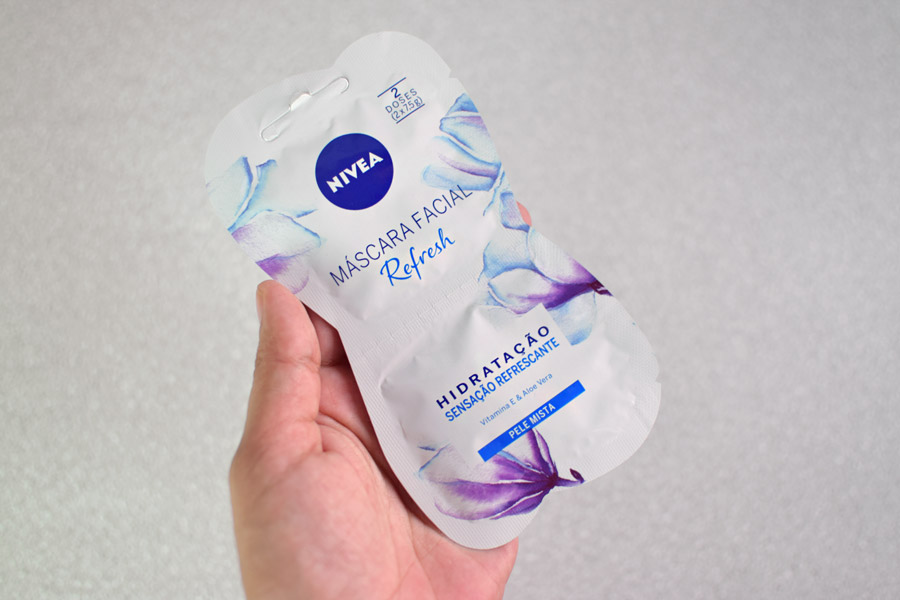 Máscara Facial Nivea Refresh