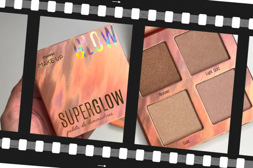 Super Glow Paleta de Iluminadores Panvel Make Up