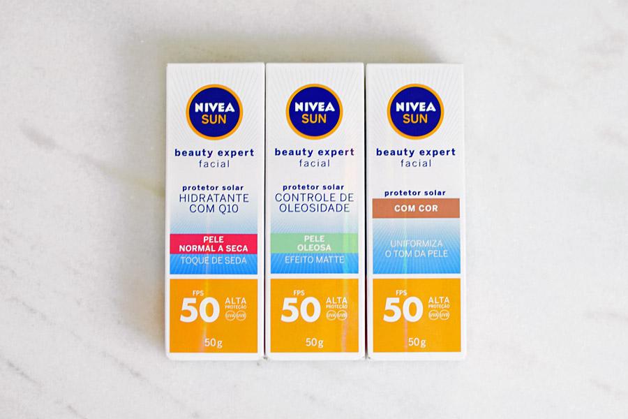 Lançamentos NIVEA SUN Beauty Expert