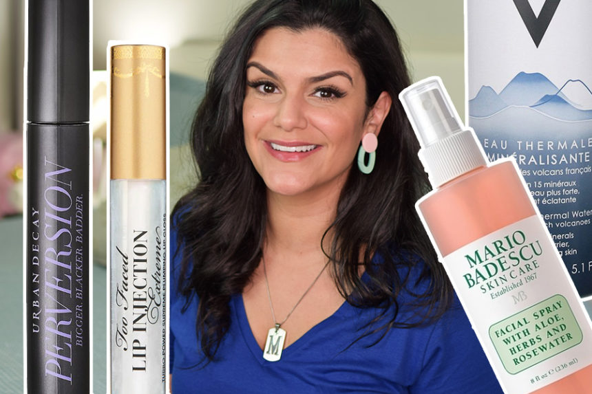 Acabados: Lip Injection Extreme, Mario Badescu Facial Spray e mais!