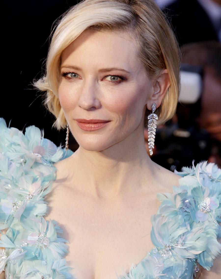 6 inspirações de maquiagem com Cate Blanchett