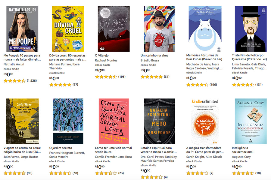 E-books para baixar de graça durante a quarentena!