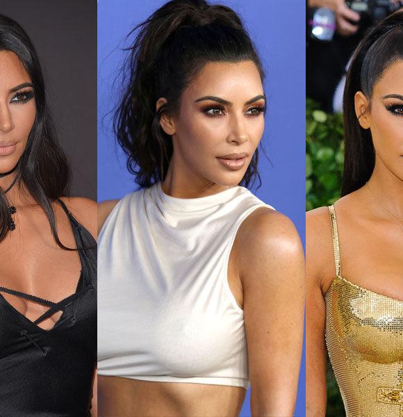 + 5 inspirações de maquiagem com Kim Kardashian