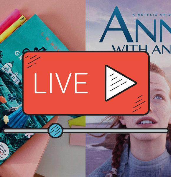 Insta LIVE do Clube do Livro: Anne de Green Gables (contém SPOILERS)
