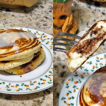 Cozinha tosca do Marinão: Panquecas com chocolate