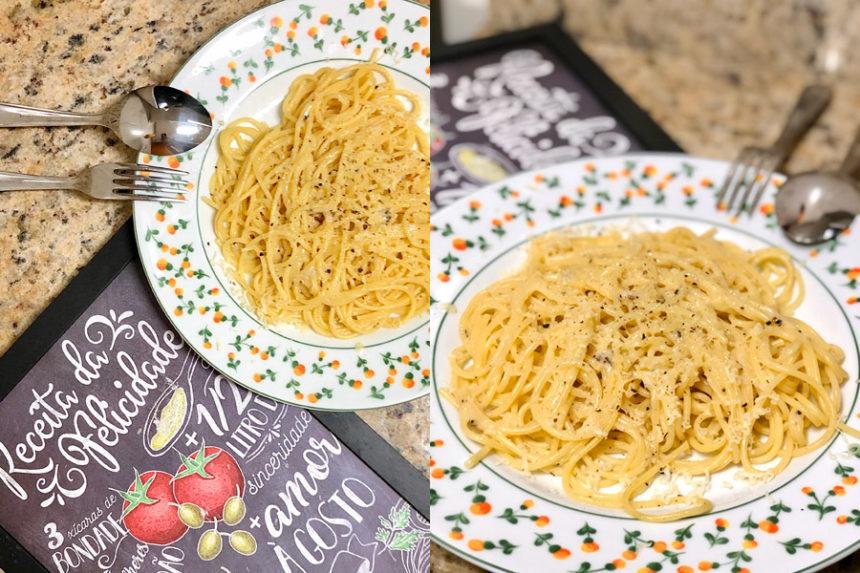 Cozinha tosca do Marinão: Cacio e pepe