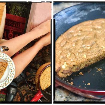 Cozinha tosca do Marinão: Torta de cookie