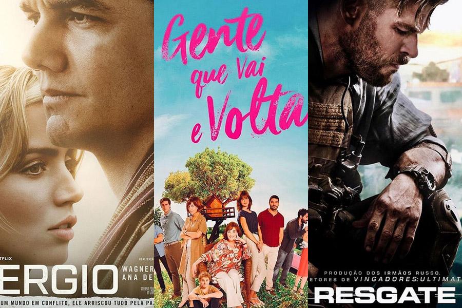 5 filmes que assisti na Netflix recentemente