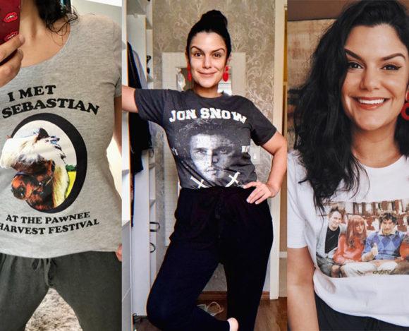 Lojas e sites pra comprar camisetas de séries e filmes
