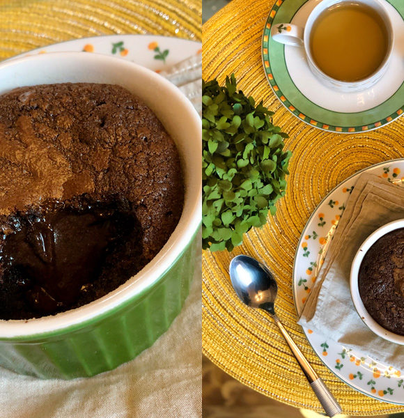 Cozinha tosca do Marinão: Potinhos de chocolate