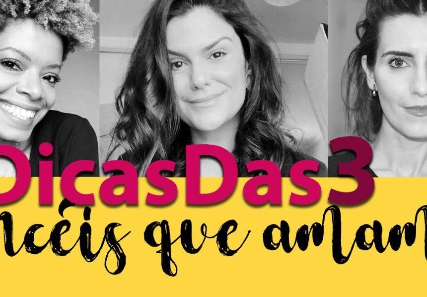 #DicasDas3: Pincéis preferidos do momento