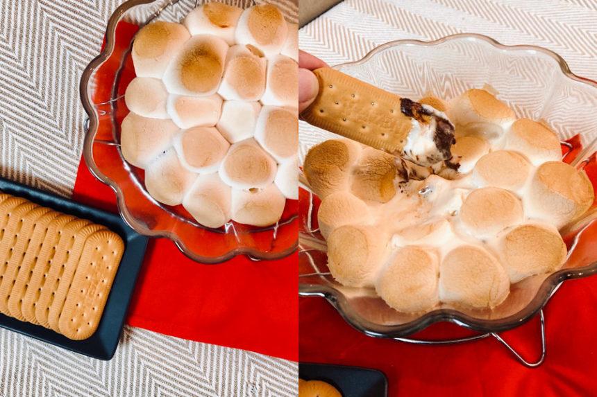 Cozinha tosca do Marinão: Fondue de S'mores