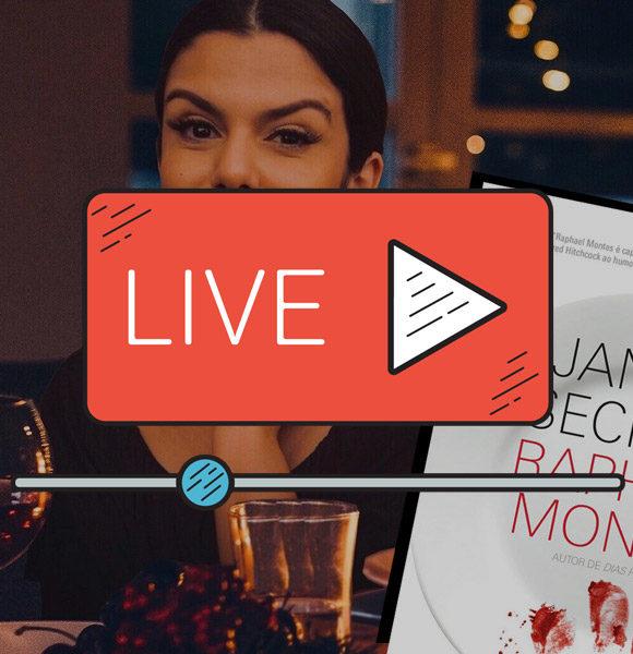 Insta LIVE do Clube do Livro: Jantar Secreto (contém SPOILERS)