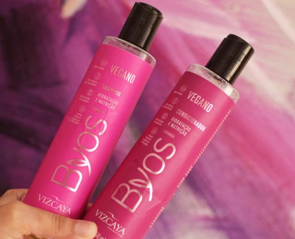 Shampoo e Condicionador Vizcaya Byos Hidratação e Nutrição