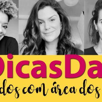 #DicasDas3: Produtos favoritos para a área dos olhos