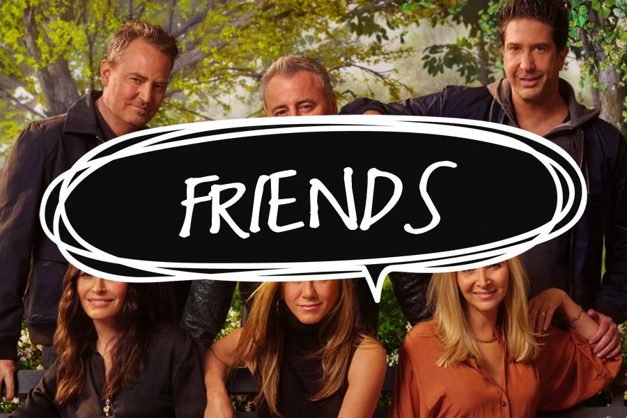 Podfalar: Mais que amigas, FRIENDS!
